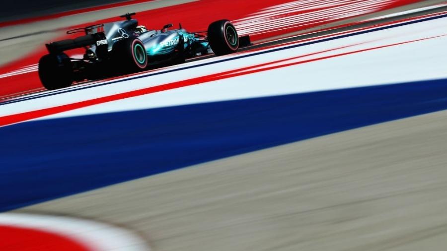 Lewis Hamilton bateu o recorde da pista em Austin - Clive Rose/Getty Images