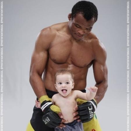 Francisco Massaranduba e o filho Francisco - Reprodução/Instagram