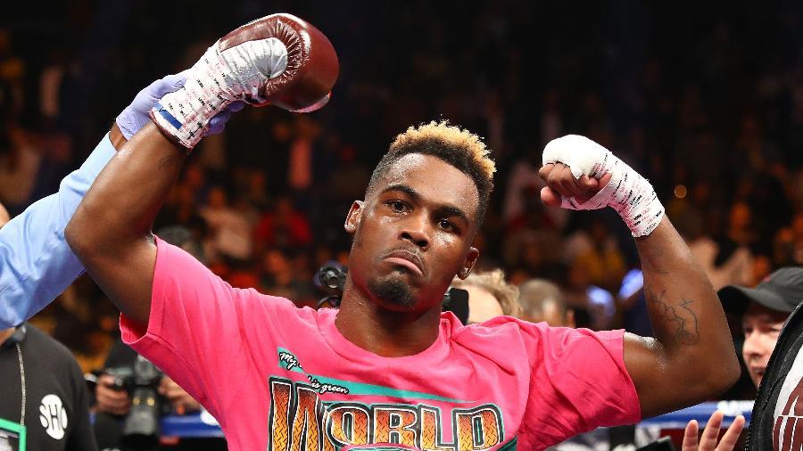 O boxeador norte-americano Jermell Charlo - Al Bello/Getty Images