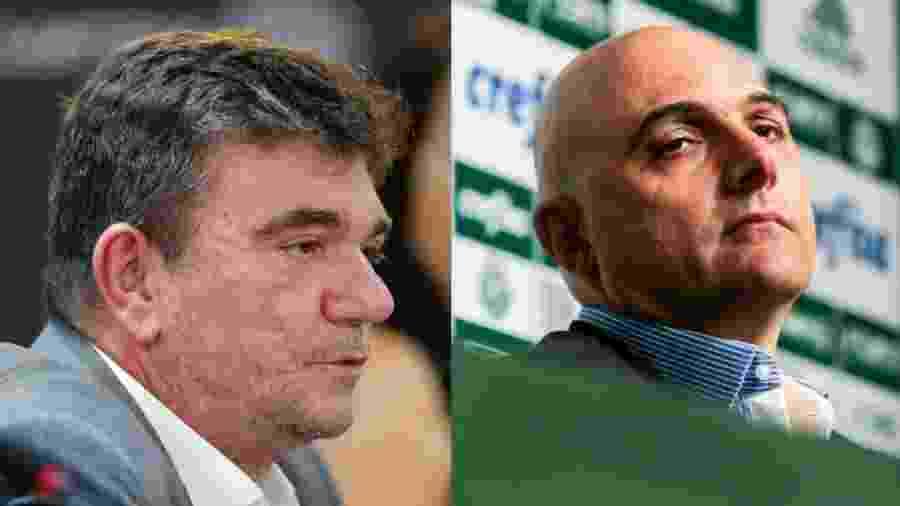 Galiotte e Andrés tiveram relação estremecida antes da final - Daniel Vorley/AGIF e Ale Cabral/AGIF