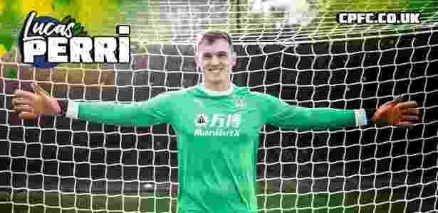 Lucas Perri assinou empréstimo de seis meses com o Crystal Palace - Divulgação/Crystal Palace