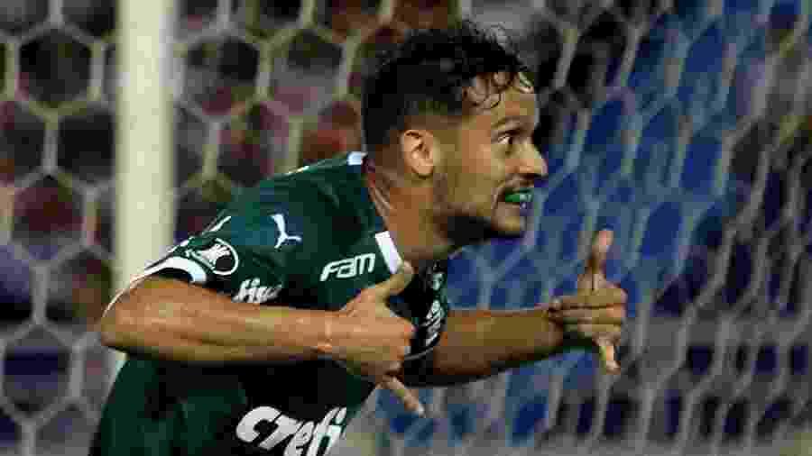 Scarpa é o artilheiro do Palmeiras na temporada - JORGE PAYARES/EFE
