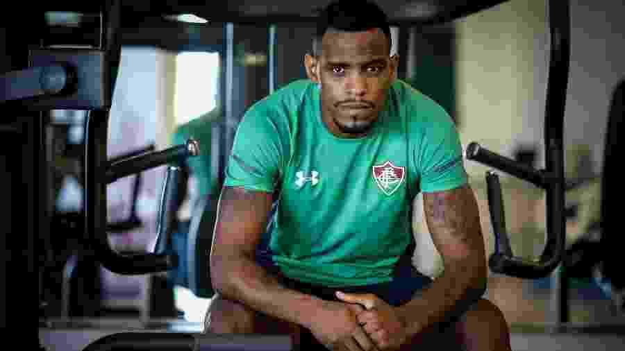 Digão está em recuperação de lesão no Fluminense - Lucas Merçon/Fluminense