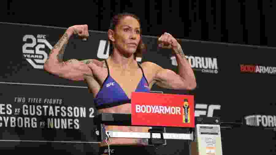 Cris Cyborg minimizou derrota sofrida para Amanda Nunes - Hans Gutknecht/Los Angeles Daily News via Getty Images