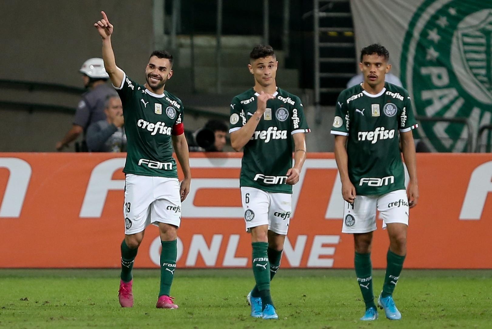 Diogo Barbosa assegura que Palmeiras resgatou a confiança após a terceira vitória seguida