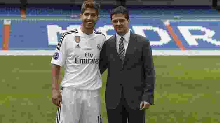 Lucas Silva, no Real Madrid - Reprodução - Reprodução