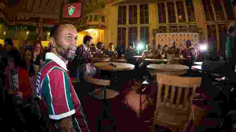 Ronald em evento do Fluminense que celebrou os 20 anos do título do Carioca de 95 - BRUNO HADDAD/FLUMINENSE F.C. - BRUNO HADDAD/FLUMINENSE F.C.