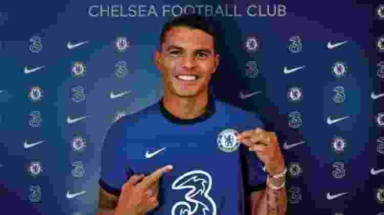 Thiago Silva - Reprodução/ChelseaFC - Reprodução/ChelseaFC