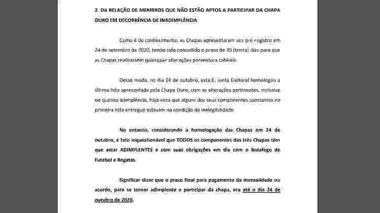 Walmer pede impugnação da chapa de Alessandro em eleição do Botafogo - Reprodução - Reprodução