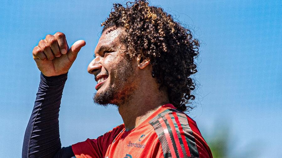 Willian Arão virou zagueiro em nova fase no Flamengo de Rogério Ceni - Alexandre Vidal/Flamengo