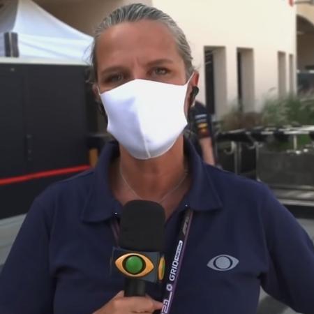 Repórter da Band não foi respondida pelo piloto espanhol da Fórmula 1 - Reprodução/YouTube