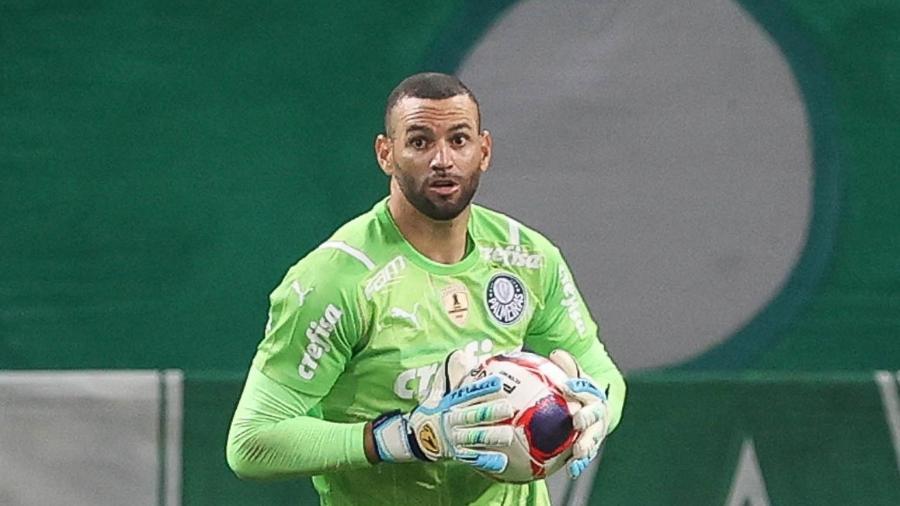 Weverton, goleiro do Palmeiras, desfalcará a equipe para defender a seleção - Cesar Greco/Palmeiras