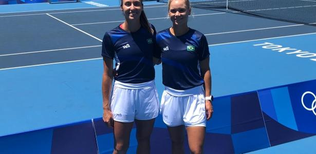 Luisa e Laura batem dupla canadense em estreia no tênis