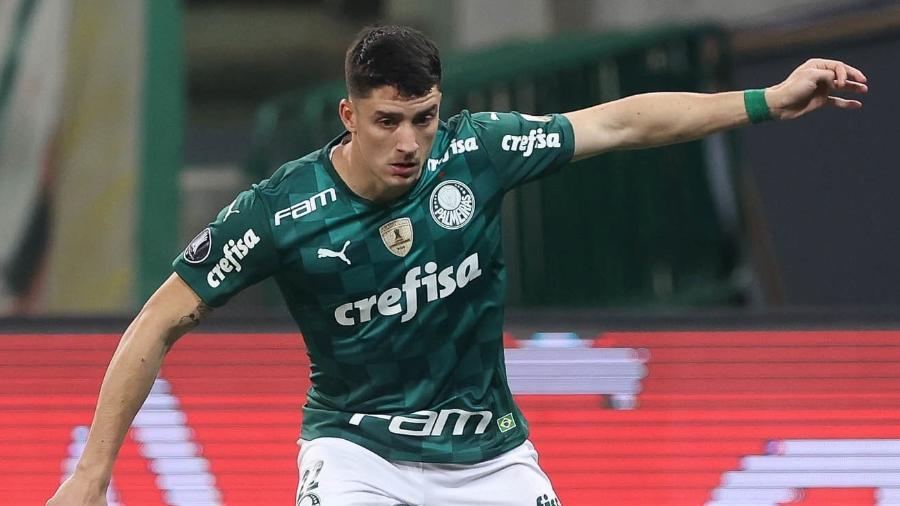 Piquerez em ação pelo Palmeiras - Cesar Greco/Palmeiras