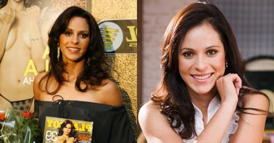 A ex-bandeirinha Ana Paula chamava a atenção nos campos de futebol pelo país e também posou para a Playboy