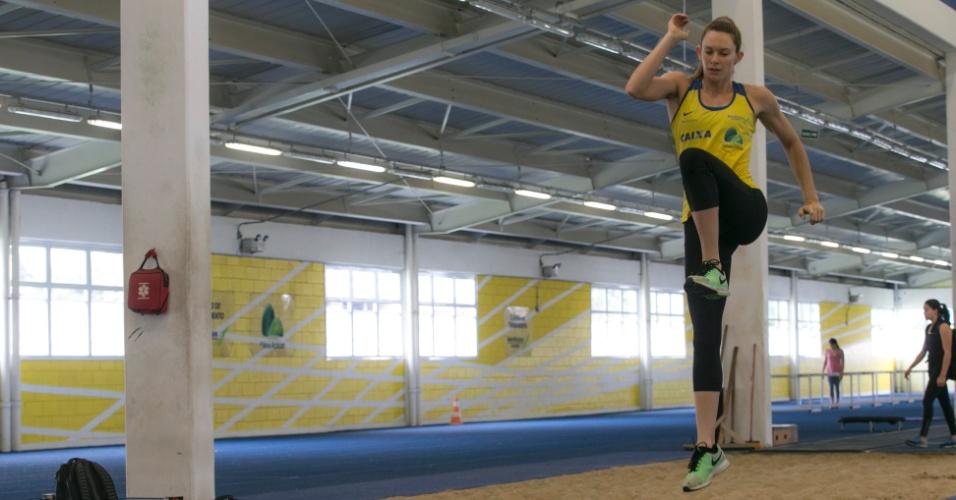 Fabiana Murer - Treino do atleta