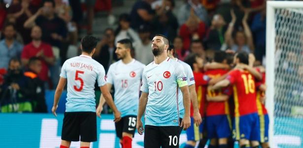 Turquia precisava da ajuda da Itália, mas italianos perderam duelo contra a Irlanda