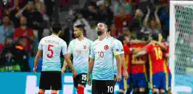 Turquia precisava da ajuda da Itália, mas italianos perderam duelo contra a Irlanda - Eddie Keogh/Reuters