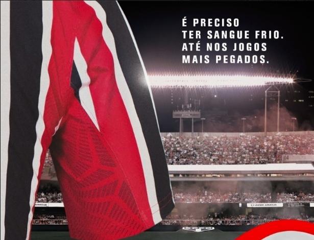 Fornecedora de materiais esportivos do São Paulo divulga detalhes da camisa 2 da equipe