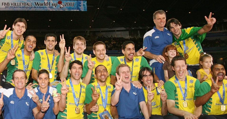 Brasil campeão da Copa do Mundo de Vôlei de 2007