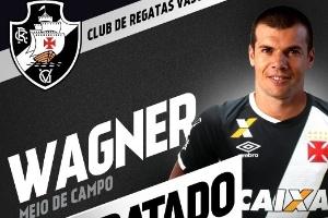 be8b0c33d1 Vasco anuncia contratação de meia Wagner - 17 01 2017 - UOL Esporte