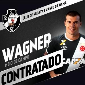 Wagner é anunciado como reforço do Vasco