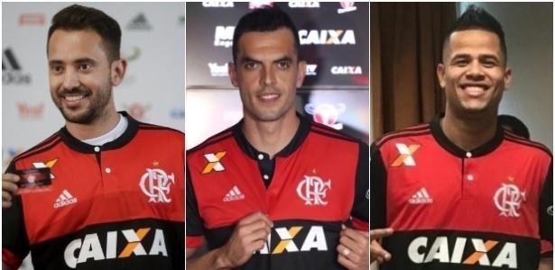 Everton Ribeiro, Rhodolfo e Geuvânio são as soluções do Flamengo contra a má fase