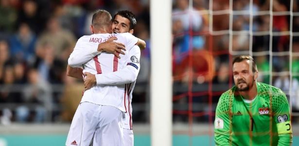 Espanha volta a fazer oito em Liechtenstein e mantém distância para ... 6b9d1dda59ffc