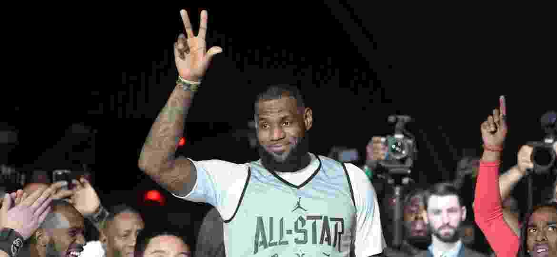 LeBron James é um dos destaques do All Star Wekeend (Final de Semana das Estrelas) da NBA - Kirby Lee-USA TODAY
