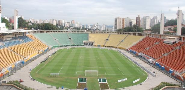 Estádio ficará aceso em carga total, como se fosse jogo, nestas terça e quarta-feira