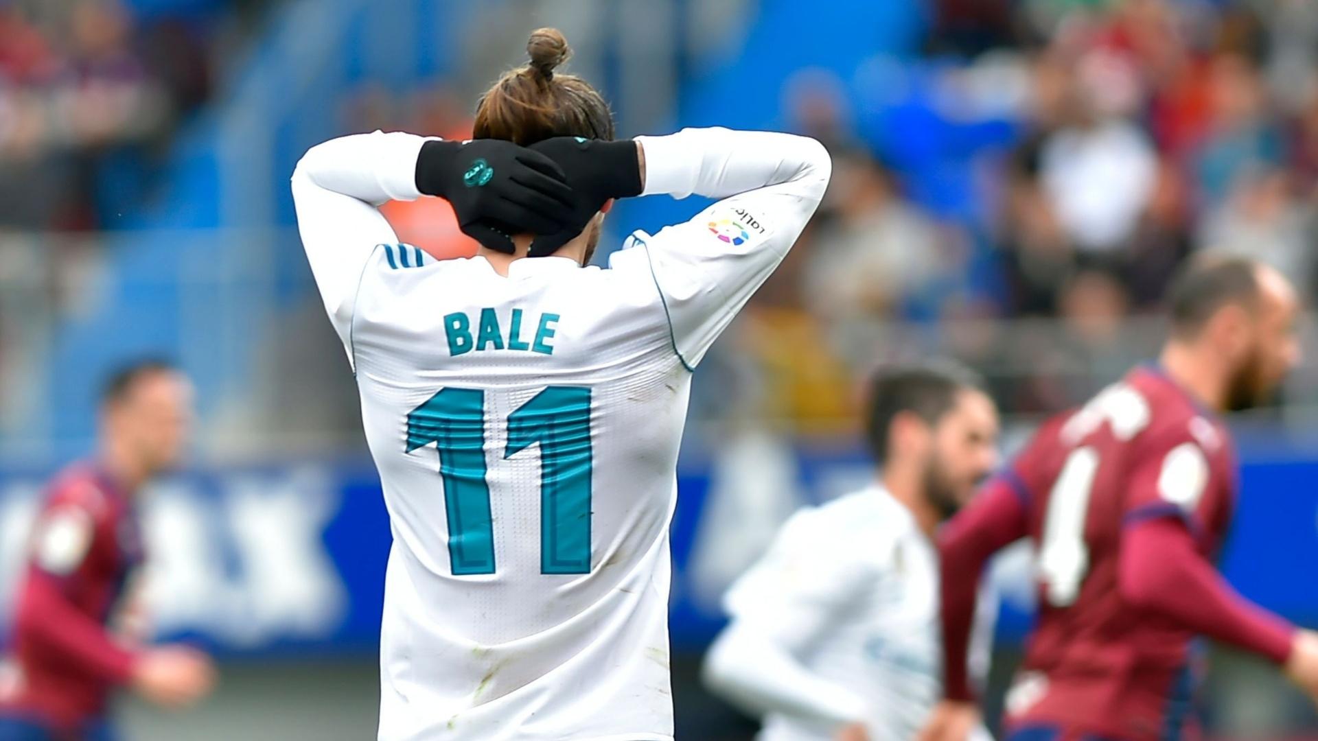 Gareth Bale durante partida contra o Eibar