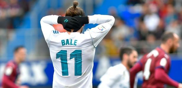 Bale não está agradando os dirigentes do Real Madrid