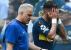 Estrela do Boca tem lesão detectada e pode perder final da Libertadores - Marcelo Endelli/Getty Images