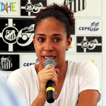 Aline Pellegrino assume cargo na CBF para cuidar do futebol feminino - Pedro Ernesto Guerra Azevedo/Santos FC