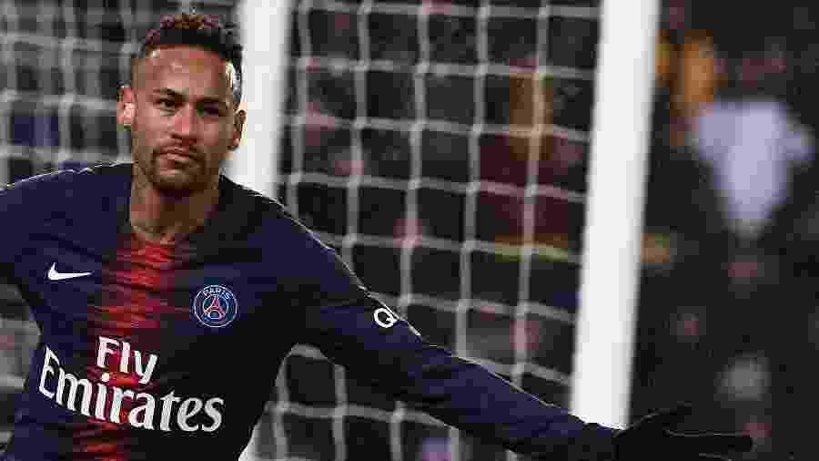 Neymar, do PSG, é investigado pela Fazenda da Espanha - Anne-Christine Poujoulat/AFP