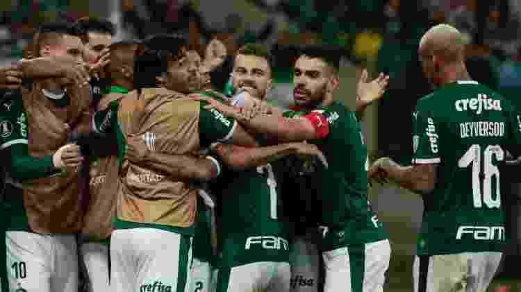 Palmeiras é um dos times brasileiros que brigam pelo título da Libertadores - Marcello Zambrana/AGIF