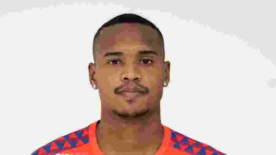 John, goleiro do Santos - Divulgação/Site oficial do Santos