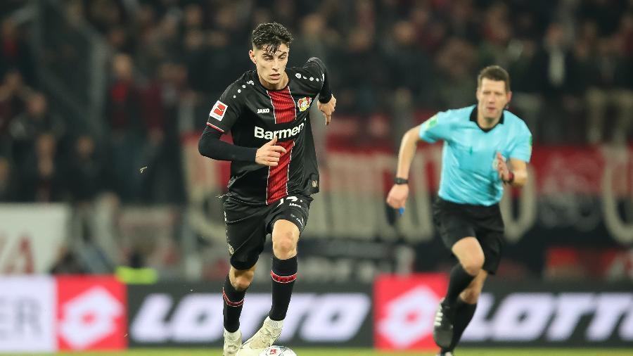 Kai Havertz, de 21 anos, está de saída do Bayer Leverkusen rumo ao Chelsea - Christian Kaspar-Bartke/Bongarts/Getty Images