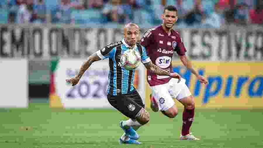 Coluna De Primeira mostrou esta semana que houve reunião recente em Liverpool sobre Cebolinha - Lucas Uebel/Grêmio FBPA