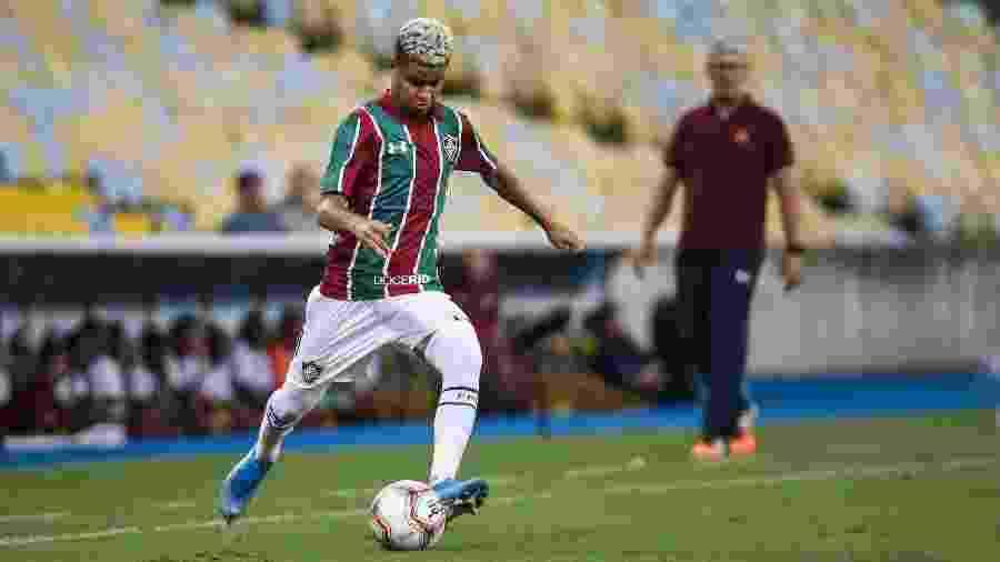 Destaque do Flu contra a Portuguesa, Miguel ganhou vaga no time titular  - Lucas Merçon/Fluminense FC