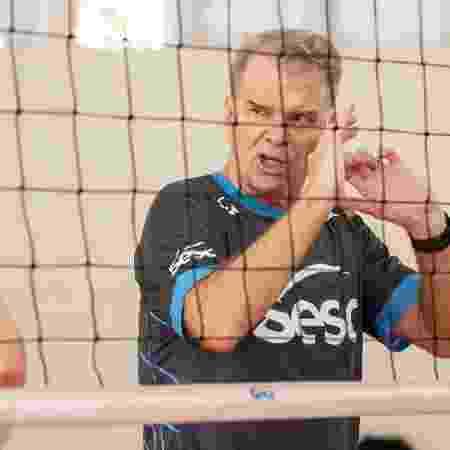 Bernardinho, técnico do Sesc - Divulgação/Sesc