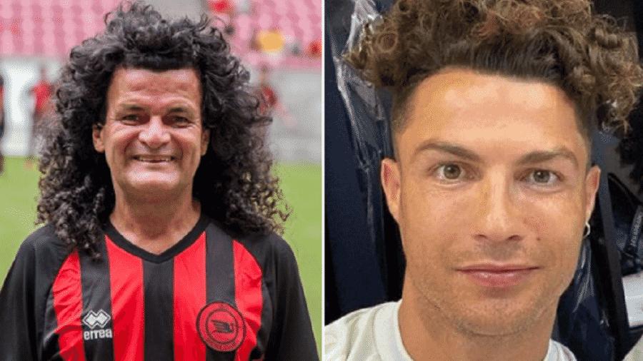 Mauro Shampoo ou Cristiano Ronaldo, quem tem mais estilo?  - Reprodução