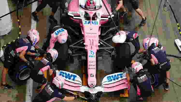 racing point pit stop - Racing Point/Divulgação - Racing Point/Divulgação