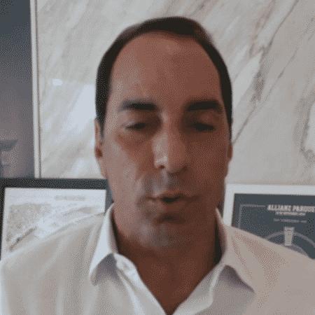 Edmundo, comentarista dos canais Fox Sports - Reprodução/ESPN Brasil