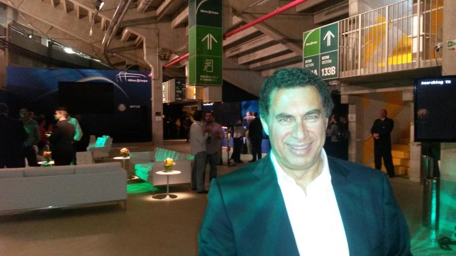 Walter Torre Júnior, dono da empresa que construiu o Allianz Parque - Danilo Lavieri/UOL