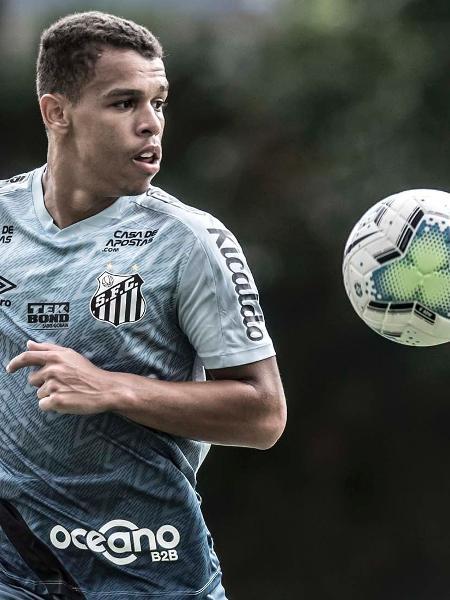 Sandry tem contato apenas até 2022 - Ivan Storti/Santos FC