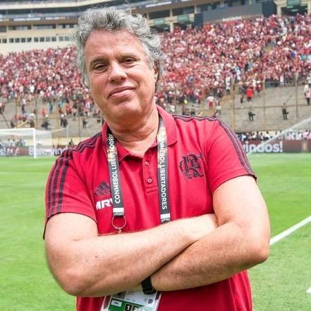 Gustavo Oliveira, vice de marketing e comunicação do Flamengo - Alexandre Vidal/CRF