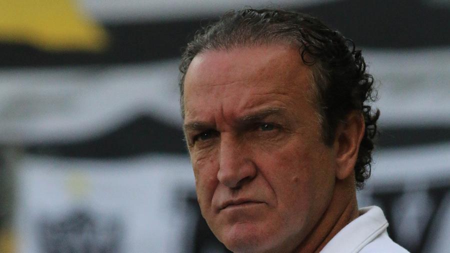 Cuca, técnico do Atlético-MG, durante a final do Campeonato Mineiro 2021 - Fernando Moreno/AGIF