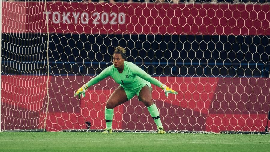 Goleira da seleção brasileira feminina abriu sua quarta edição de Olimpíadas com boa atuação contra a China - Sam Robles/CBF