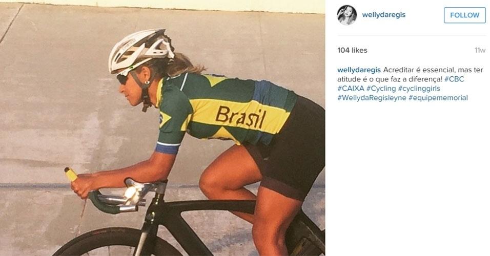 Wellyda Rodrigues - ciclismo
